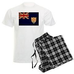 Anguilla Flag Pajamas