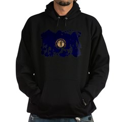 Kentucky Flag Hoodie (dark)