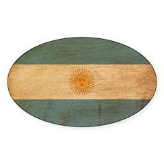 Argentina Flag Decal