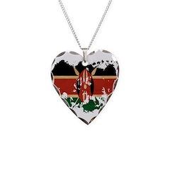 Kenya Flag Necklace
