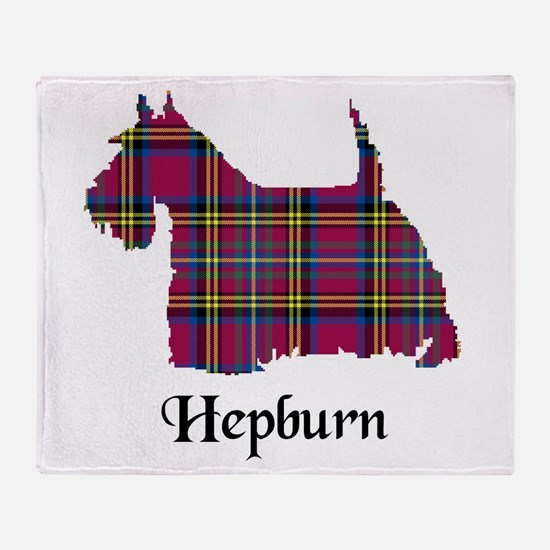 Terrier - Hepburn Throw Blanket