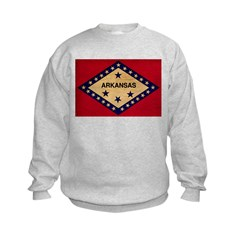 Arkansas Flag Sweatshirt