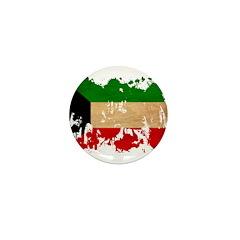 Kuwait Flag Mini Button