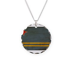 Aruba Flag Necklace