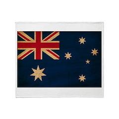 Australia Flag Throw Blanket