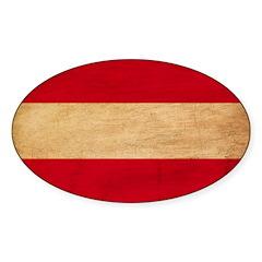 Austria Flag Decal