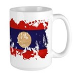 Laos Flag Large Mug