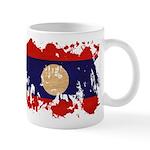 Laos Flag Mug