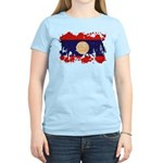Laos Flag Women's Light T-Shirt
