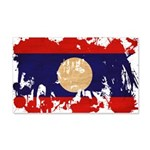 Laos Flag 22x14 Wall Peel
