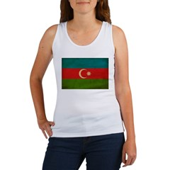Azerbaijan Flag Women's Tank Top
