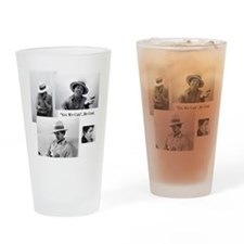 Cute Michelle obama Drinking Glass