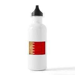 Bahrain Flag Water Bottle