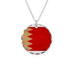 Bahrain Flag Necklace