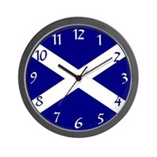 St. Andrew's Cross Wall Clock