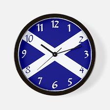 St. Andrew's Cross Wall Clock