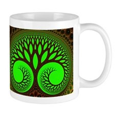"""Tree 2"" Fractal Art Mug"