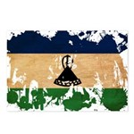 Lesotho Flag Postcards (Package of 8)
