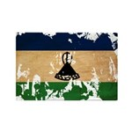 Lesotho Flag Rectangle Magnet (100 pack)