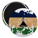 Lesotho Flag Magnet