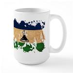 Lesotho Flag Large Mug