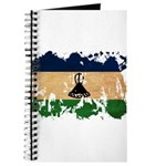 Lesotho Flag Journal