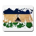 Lesotho Flag Mousepad