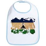 Lesotho Flag Bib