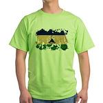 Lesotho Flag Green T-Shirt