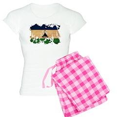 Lesotho Flag Pajamas