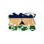 Lesotho Flag Aluminum License Plate