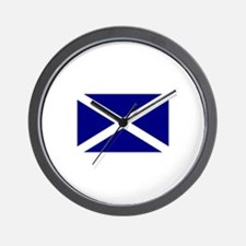 Flag of Scotland Wall Clock