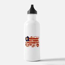 Liberia Flag Water Bottle