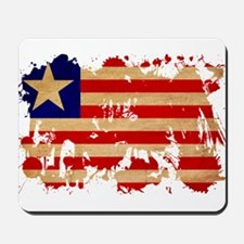 Liberia Flag Mousepad