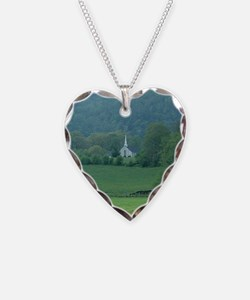Little Church in Wolf Fork Valley Necklace