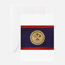 Belize Flag Greeting Card