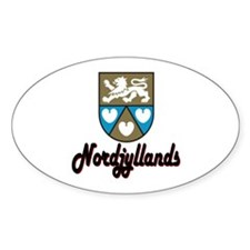 Nordjyllands Oval Decal
