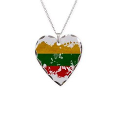 Lithuania Flag Necklace