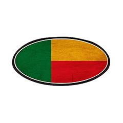 Benin Flag Patches