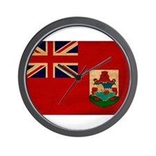 Bermuda Flag Wall Clock