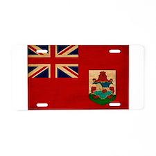 Bermuda Flag Aluminum License Plate