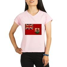 Bermuda Flag Performance Dry T-Shirt