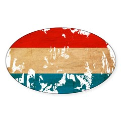 Luxembourg Flag Decal