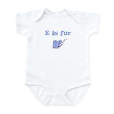 E is for Elephant Infant Creeper