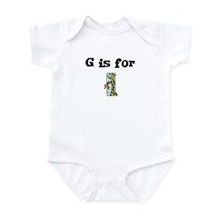 G is for Giraffe Infant Creeper