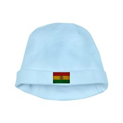 Bolivia Flag baby hat