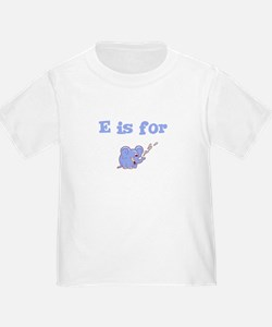 E is for Elephant Toddler Tee