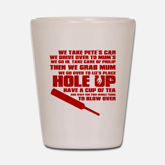 Hole Up Shot Glass