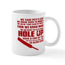 Hole Up Small Mug
