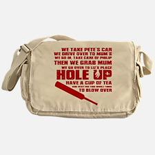 Hole Up Messenger Bag